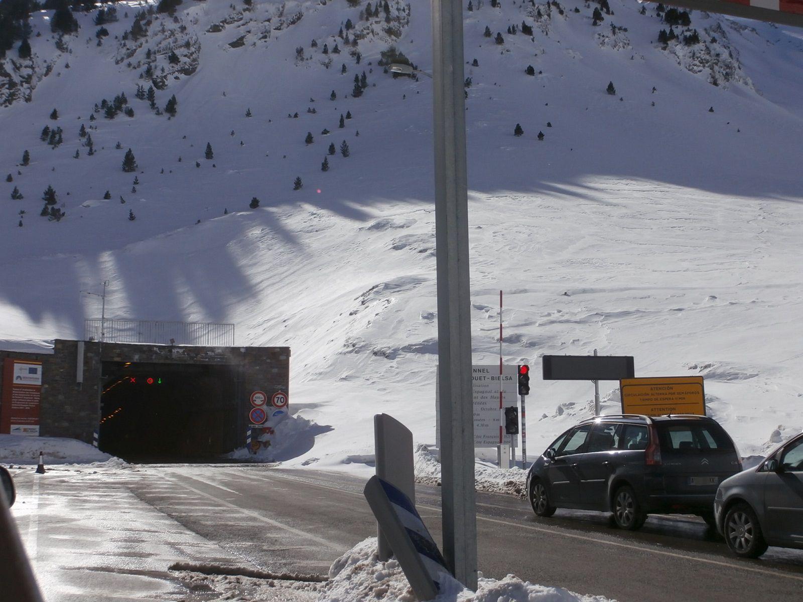 Túnel de Bielsa-Aragnouet lado francés. Foto: SobrarbeDigital.
