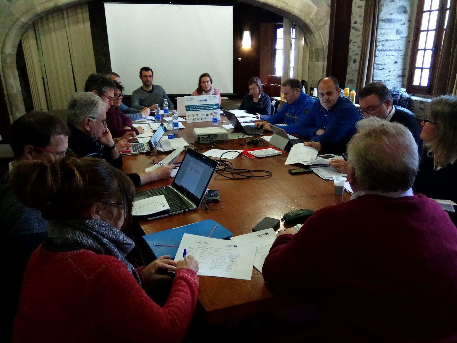 Imagen de la reunión del grupo de trabajo. Foto: Zona Zero.