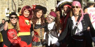 Carnaval de Fiscal. Foto: SobrarbeDigital.