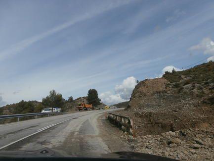 Este Martes 1 De Abril La Carretera A 138 De Barbastro A Francia